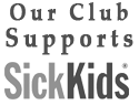 We support Sick Kids Hospital
